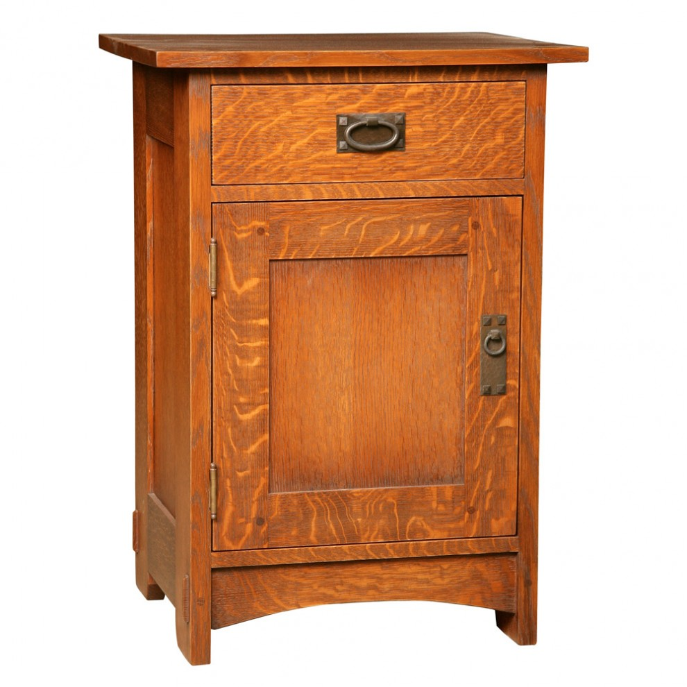 Door & Drawer Night Stand